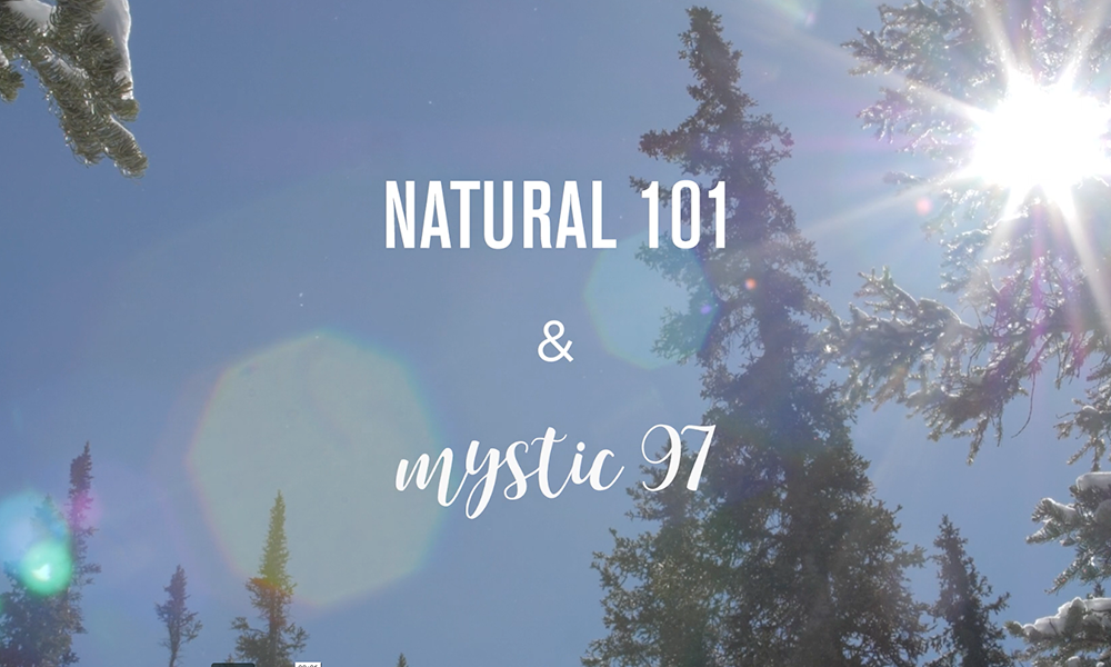18/19 Icelantic Skis: Natural 101 & Mystic 97