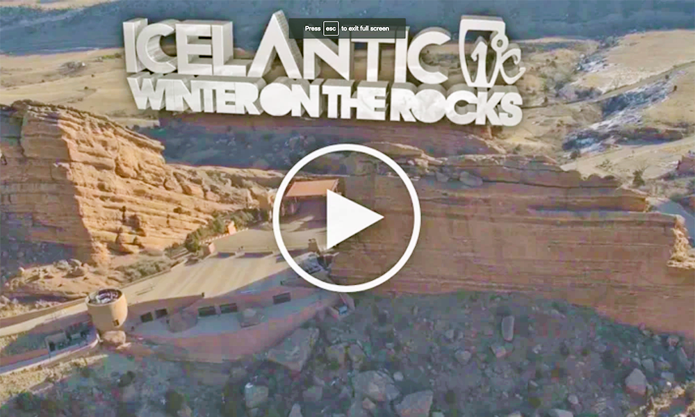 Icelantic's Winter on the Rocks 2016-Featuring Adventure Club, Big Grams and Half Color