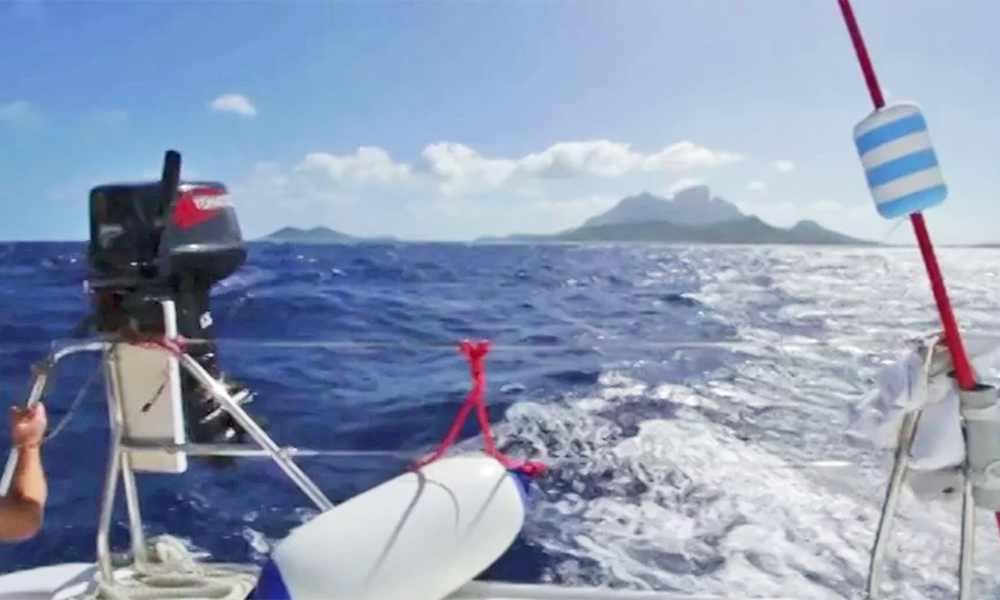Mana - Part 4 - Icelantic Skis Sailing Adventure with the Moorings - Bora Bora Round 1