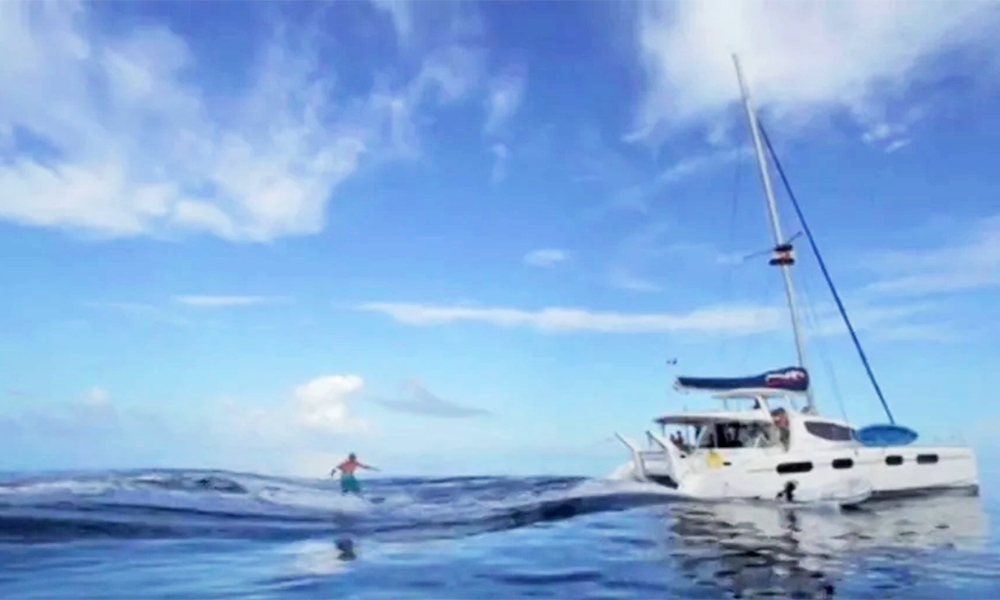Mana - Part 6 - Icelantic Skis Sailing Adventure with the Moorings - Huahine