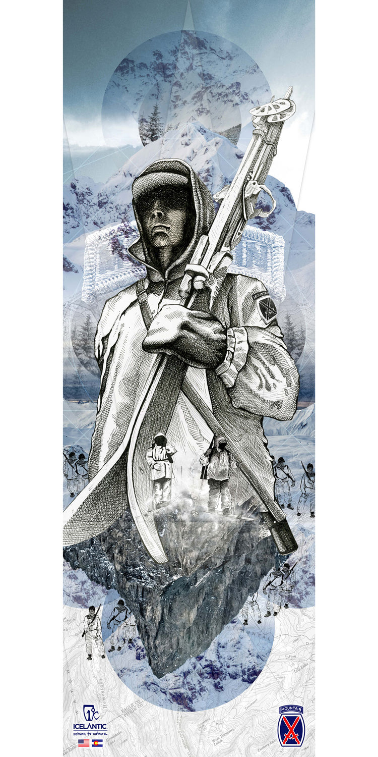 10th Mountain Division Fine Art Print