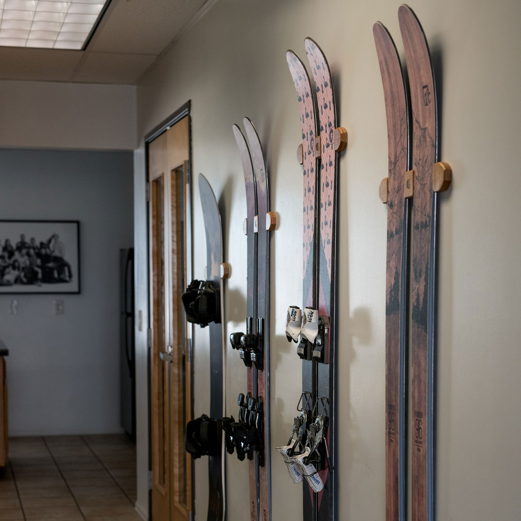 Ski Display Rack