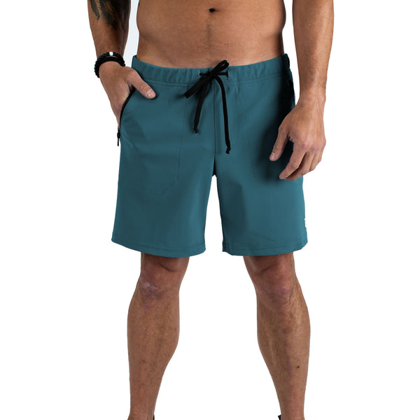 MTN Adventure Short - Deep Teal