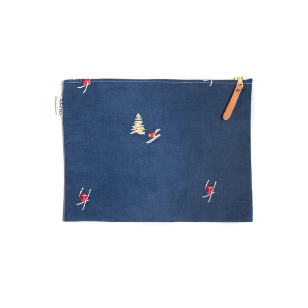 Skier Corduroy Accessory Bag