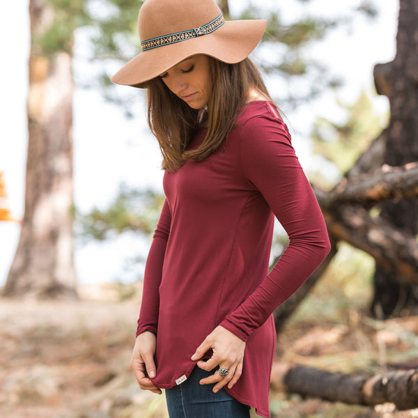 Lightweight Eco Bamboo LS Shirt