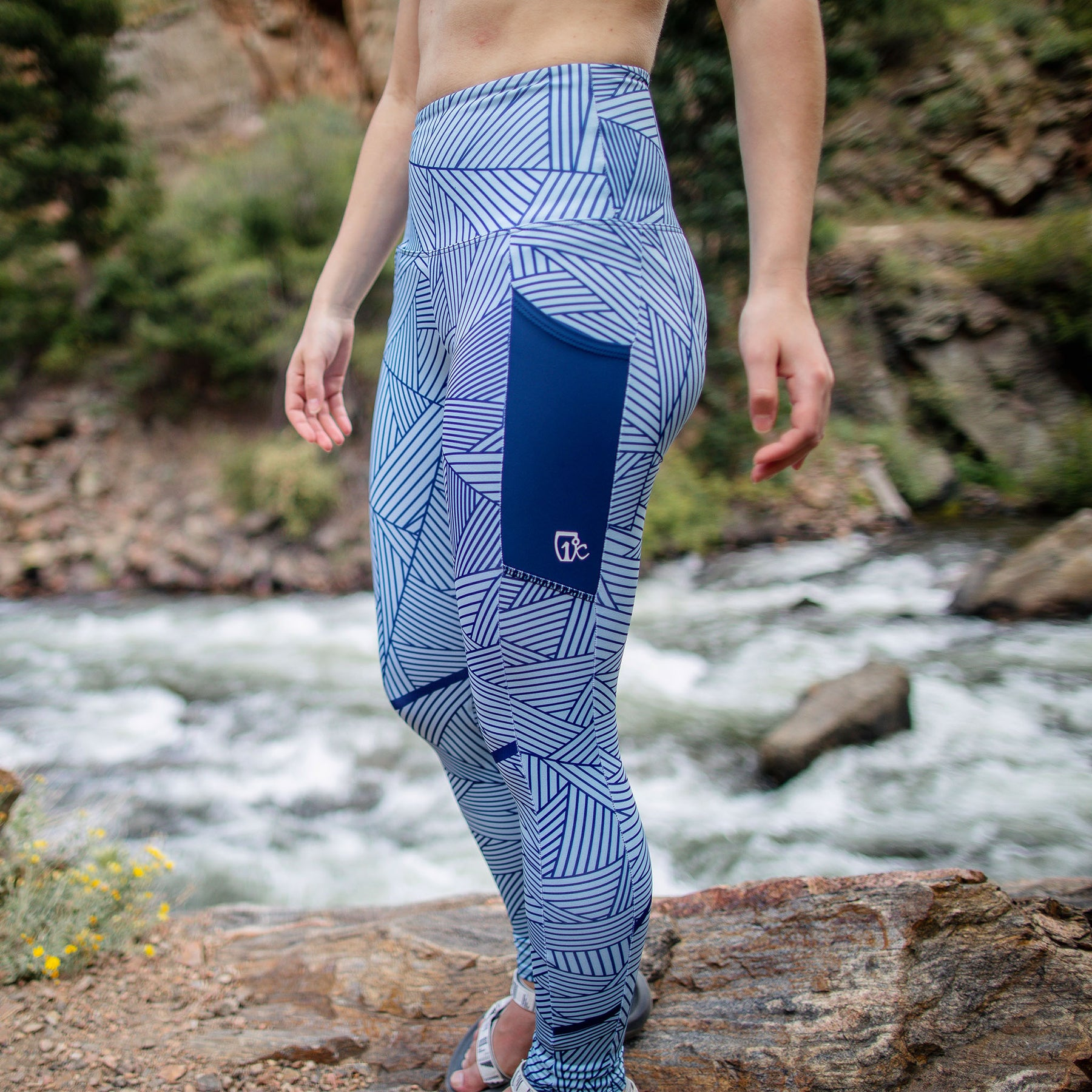 20/21 Pocket Leggings - Sage