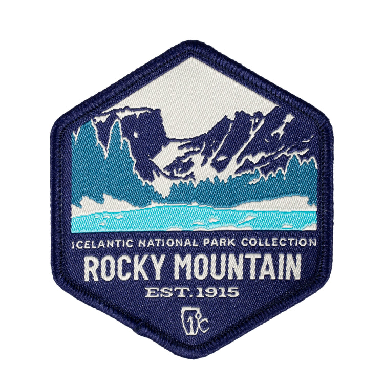 Rocky Mountain Woven Patch