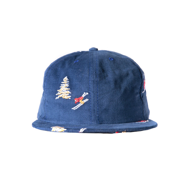 Skier Corduroy Unstructured 6-Panel
