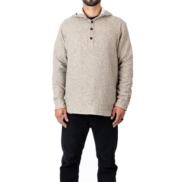 Slub Hooded Henley