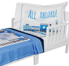 Outer Space Bed Set Blast Off Spaceship Toddler Bedding