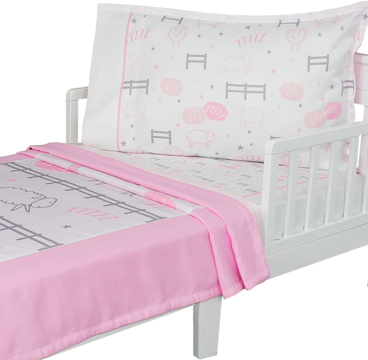 Sheep Kids Bedding Sweet Dreams Farm Animal Toddler Bed