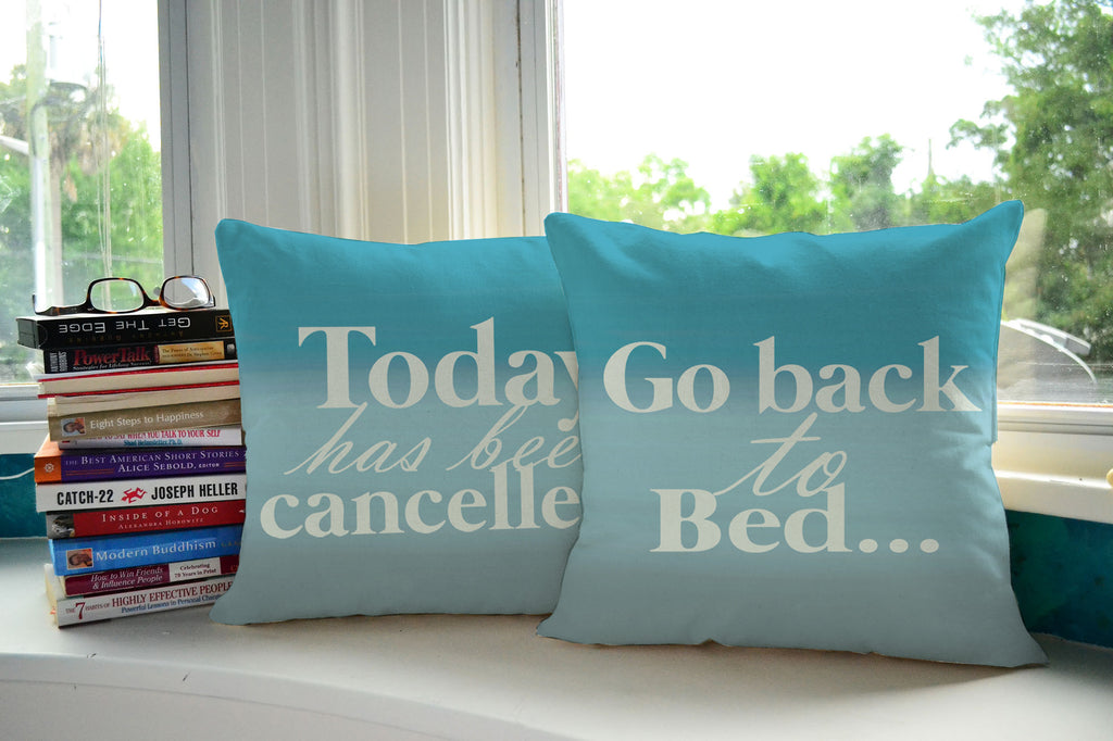 Funny Quote Throw Pillows