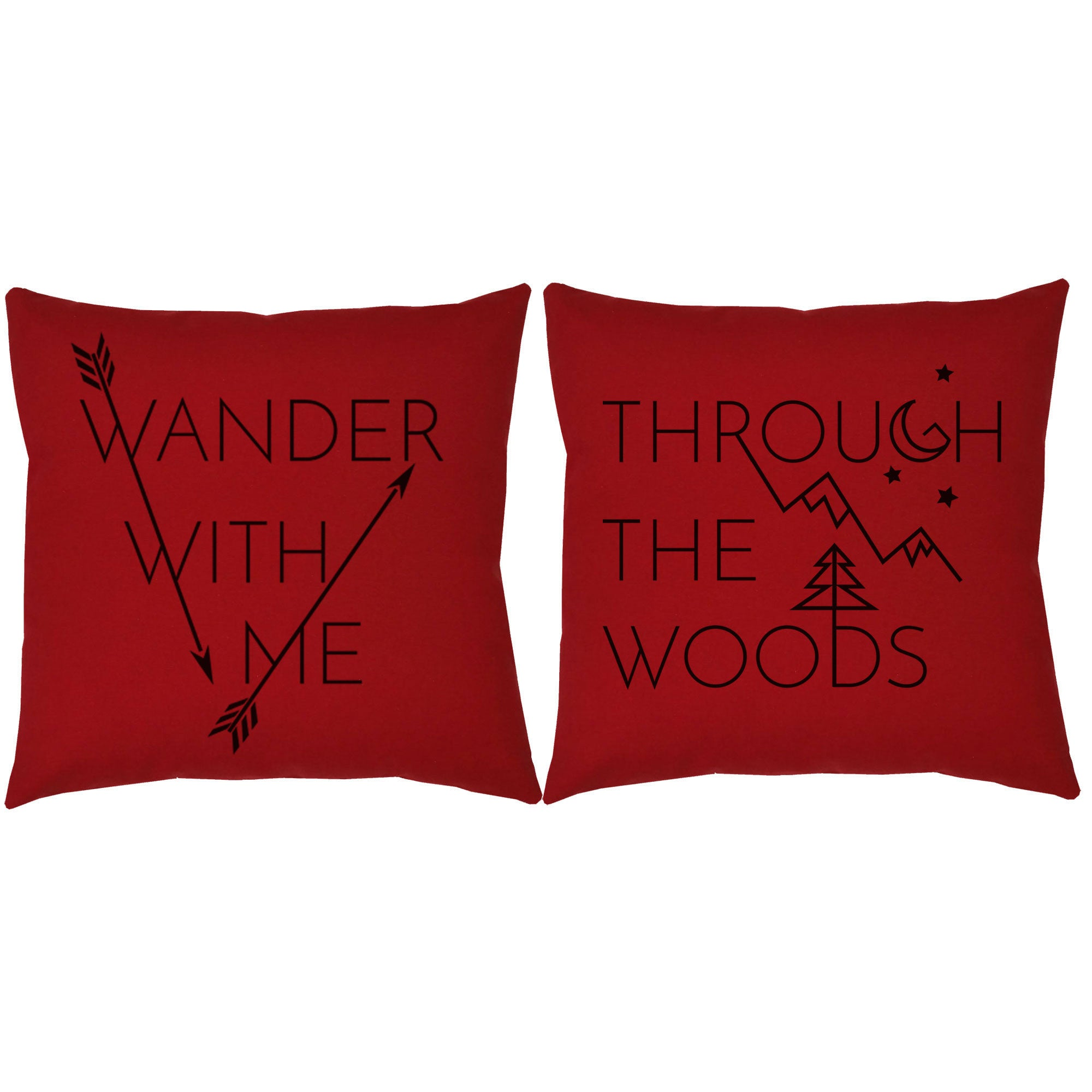 throw red free shipping over acrylic home product decorative overstock pillow pillows garden williamsport woolrich orders on