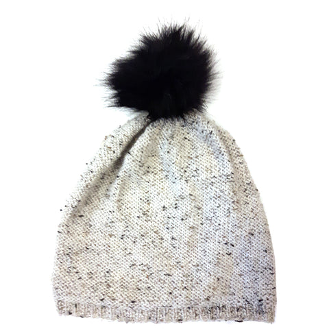 Blackstone Slouchy with pompom