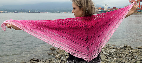 Color Fade Shawl