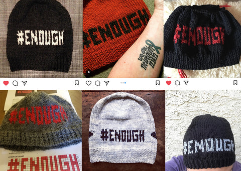 #ENOUGH Hat FOs