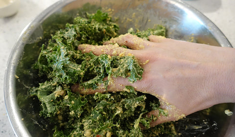 Kale chips The Crafty Jackalope