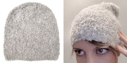 Magpie Darling Hat - Sherpa