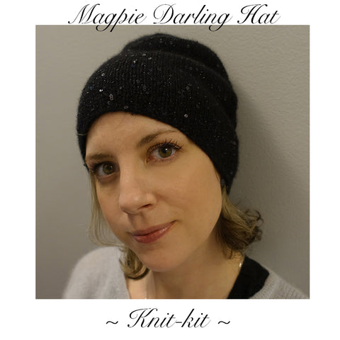 Magpie Darling Knit Kit Hat