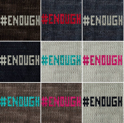 #ENOUGH Knit Kits