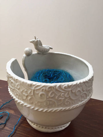 Talkingclay yarn bowl