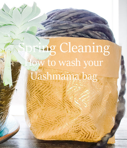 Cleaning your Uashmama bag