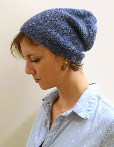 blackstone slouchy {knitting pattern}-knitting pattern-The Crafty Jackalope