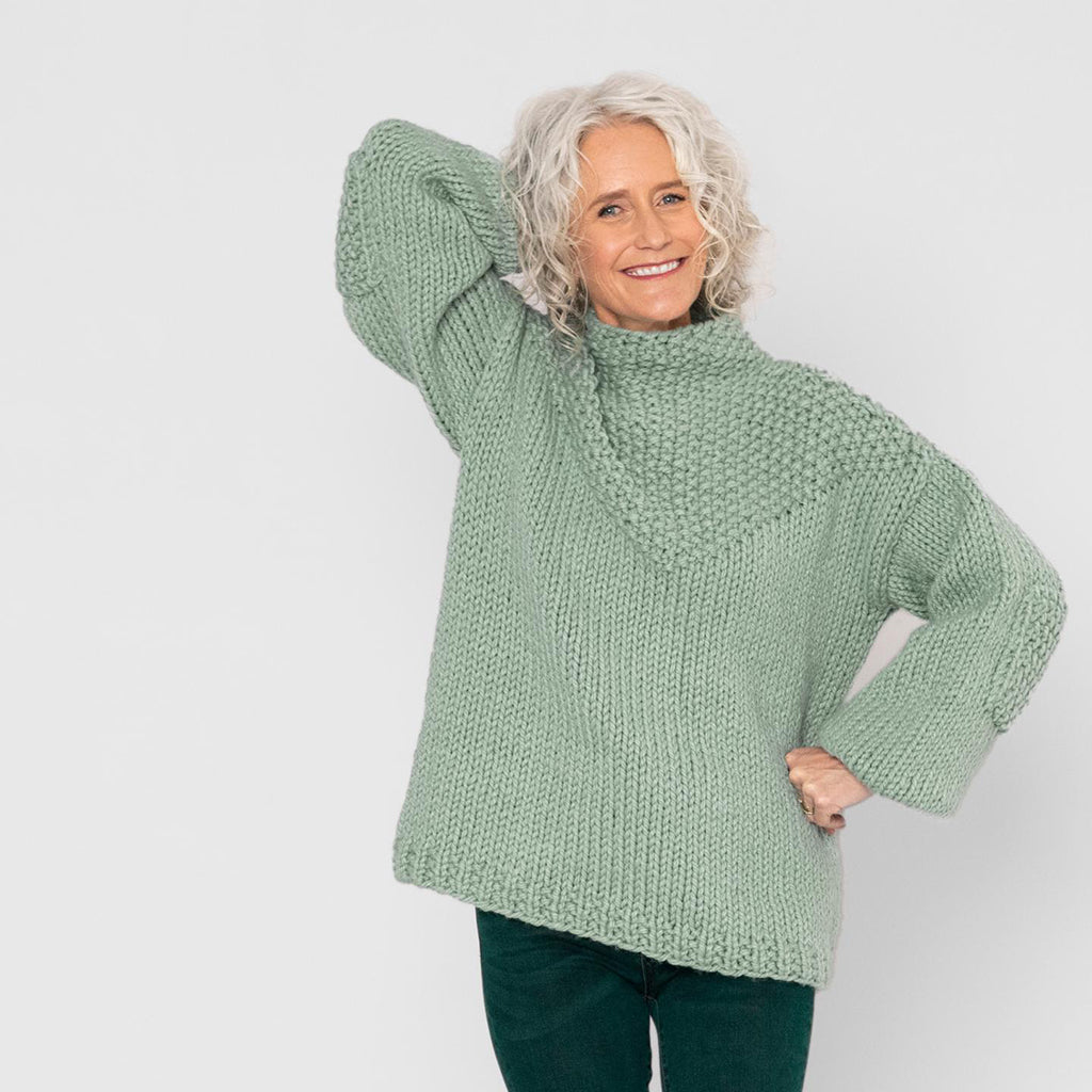 chaser pullover {knitting pattern}