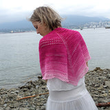 color fade shawl {knitting pattern} - The Crafty Jackalope - 3