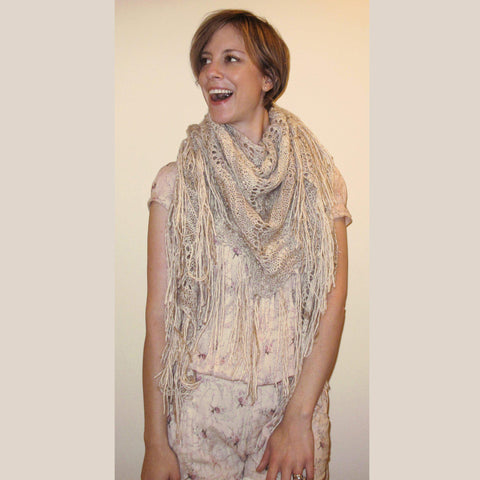 Feathering Shawl {knitting pattern} - The Crafty Jackalope - 2