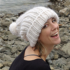 free love slouchy hat {knitting pattern}-knitting pattern-The Crafty Jackalope