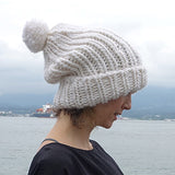 free love slouchy hat {knitting pattern} - The Crafty Jackalope - 3
