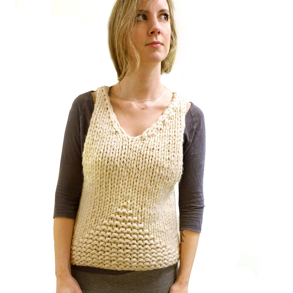Little Tank {PDF pattern & knit kit}-knit kit-The Crafty Jackalope