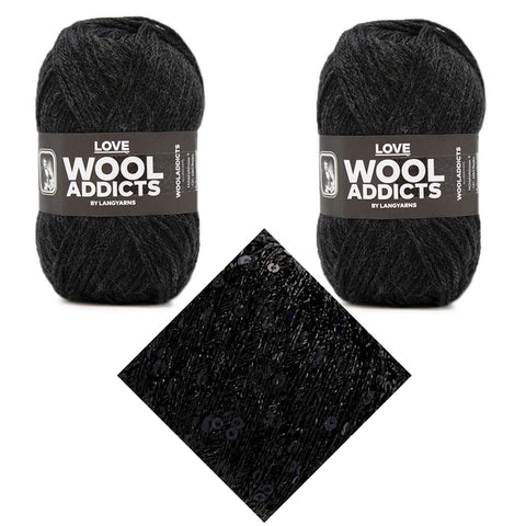 WoolAddicts: tcj Magpie Darling Hat {knit kit}