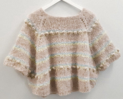 Oh My Sheep Poncho {knitting pattern}