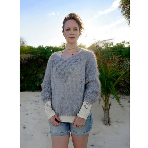 peppercorn pullover {knitting pattern}-knitting pattern-The Crafty Jackalope