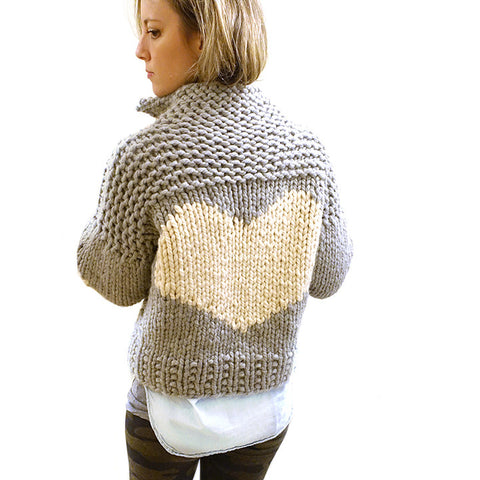 pilot pullover {PDF pattern and/or knit kit}-knit kit-The Crafty Jackalope