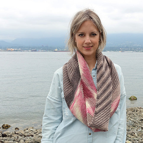 portobello cowl version 2.0 {knitting pattern}-knitting pattern-The Crafty Jackalope