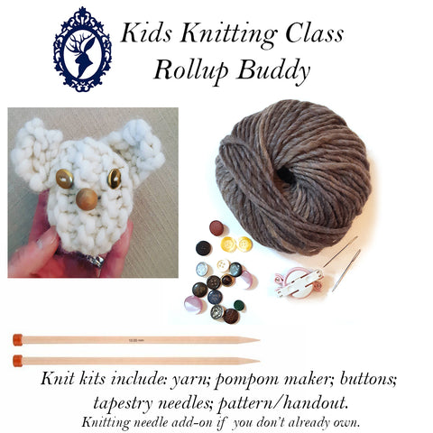 The Happiness Report - KIDS KNIT CLASS