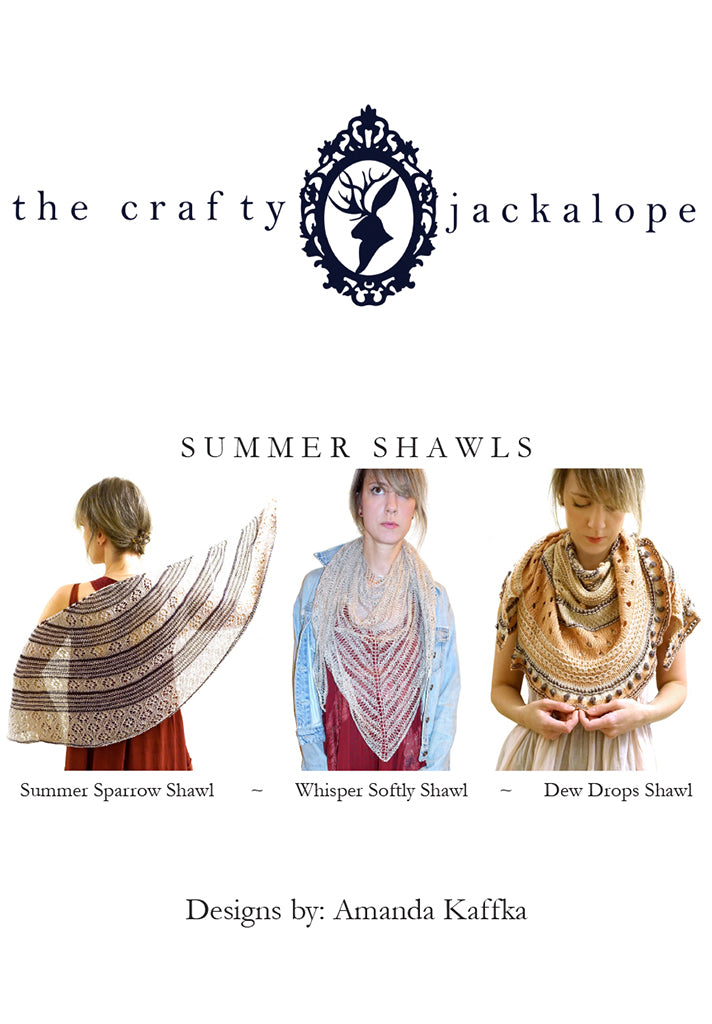 summer shawl collection {booklet}