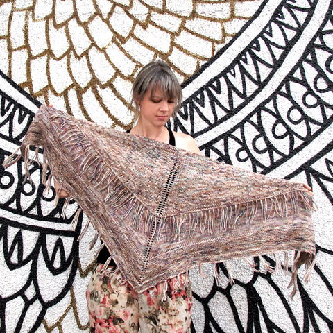 Boho Beats Shawl {knitting pattern}
