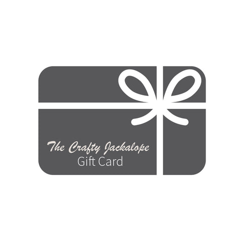 The Crafty Jackalope Gift Cards