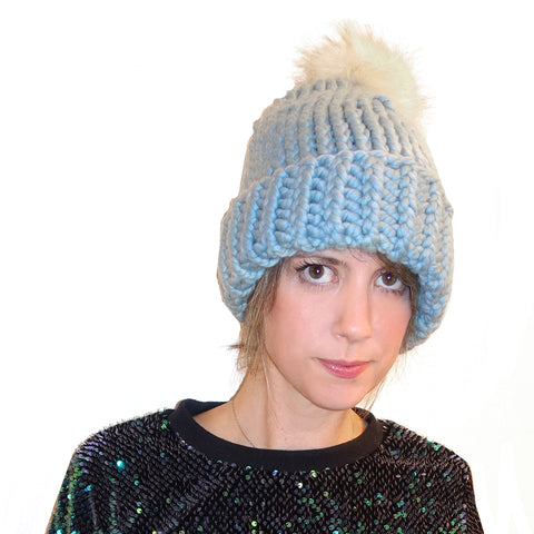 Heli Hat {PDF pattern & knit kit}