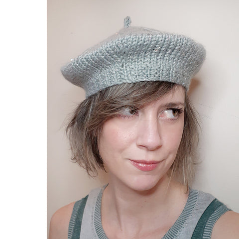 magpie darling beret {knit kit}