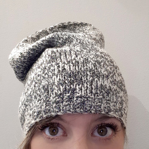 magpie darling marled hat {knitting pattern}