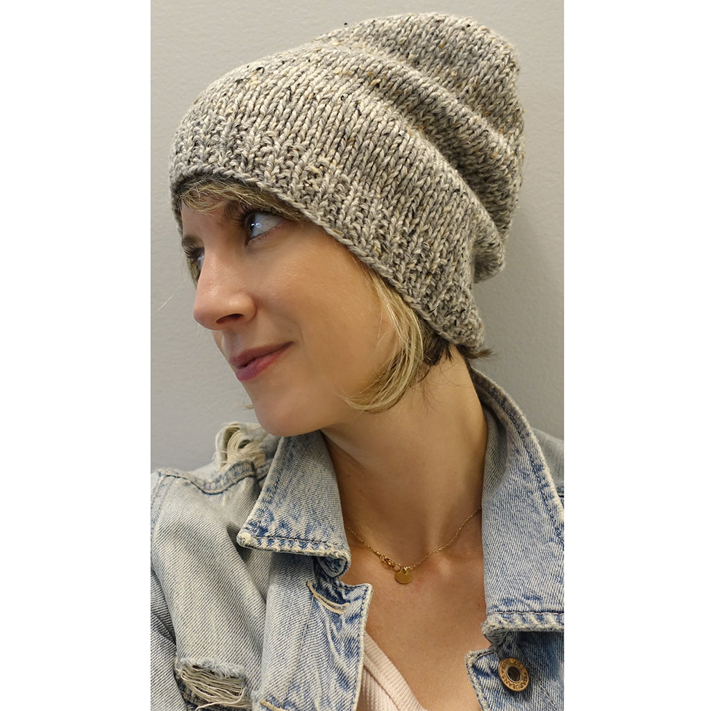 marled madness hat {knitting pattern}