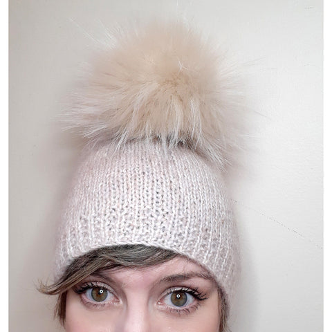 simply soft hat - mini bling {knit kit}