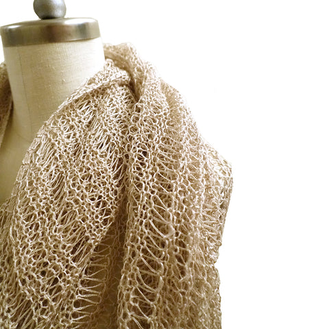 Whisper Softly Shawl {knitting pattern}