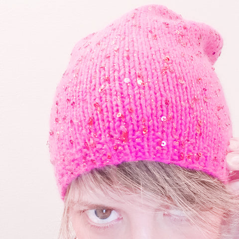 magpie darling hat {knitting pattern}