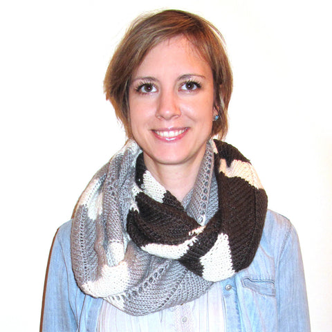 arrows & sparrows cowl {knitting pattern}-knitting pattern-The Crafty Jackalope